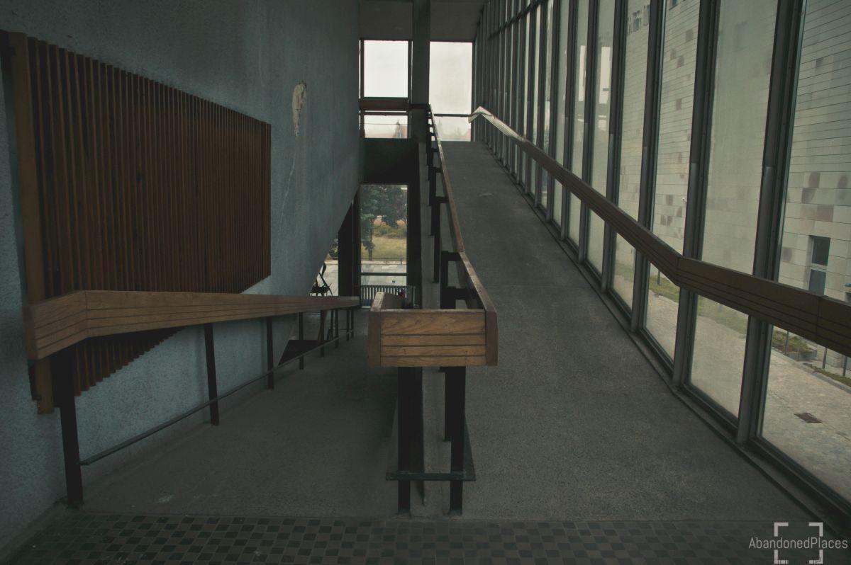 Audytorium Wydziału Chemii - Korytarz