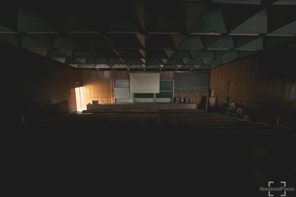 Audytorium Wydziału Chemii - Sala Wykładowa