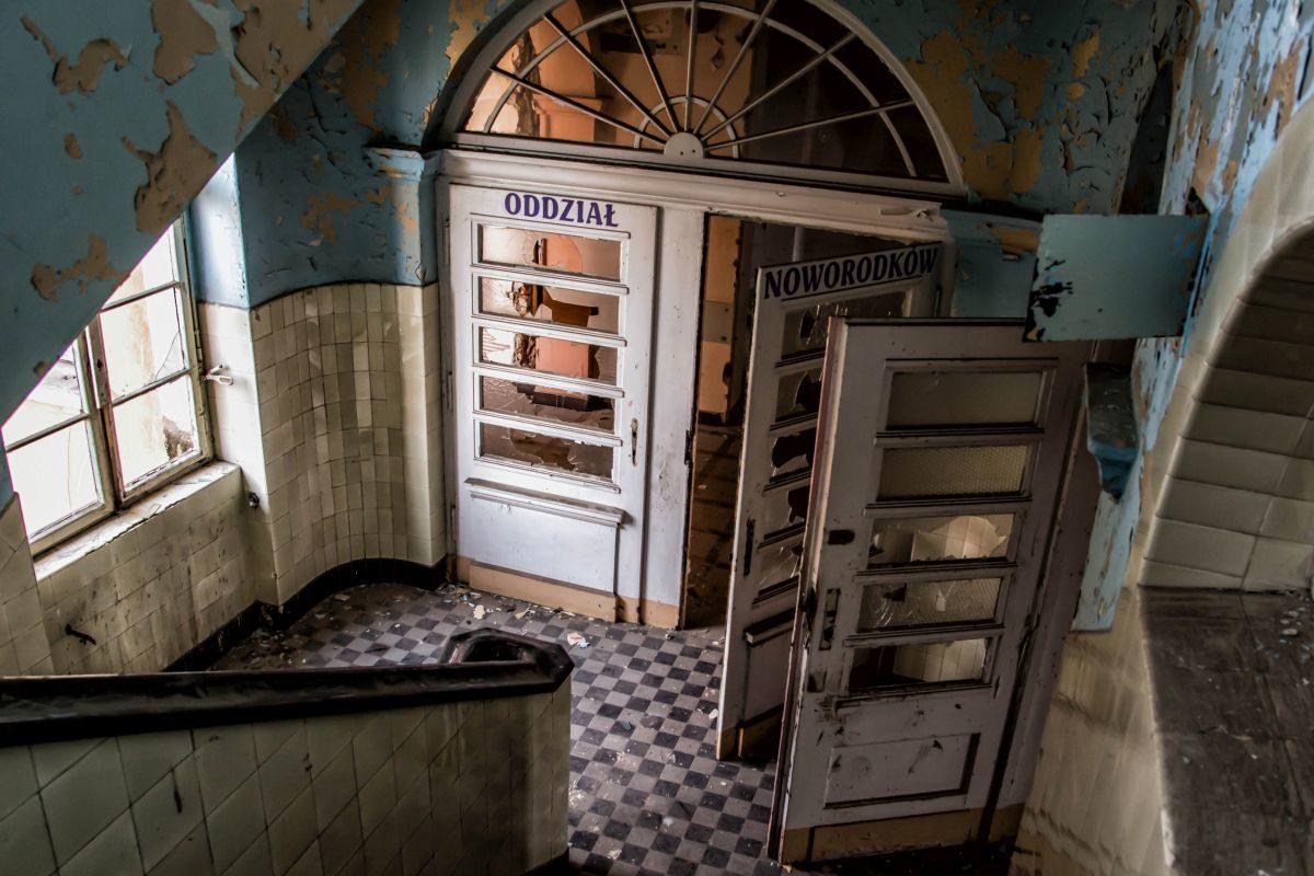 Opuszczony Szpital Powiatowy - Oddzial Noworodkowy