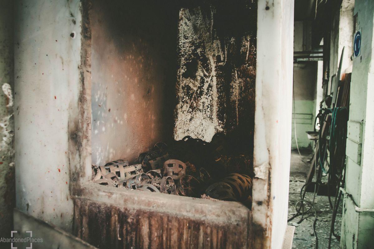 Opuszczona Huta Szkła