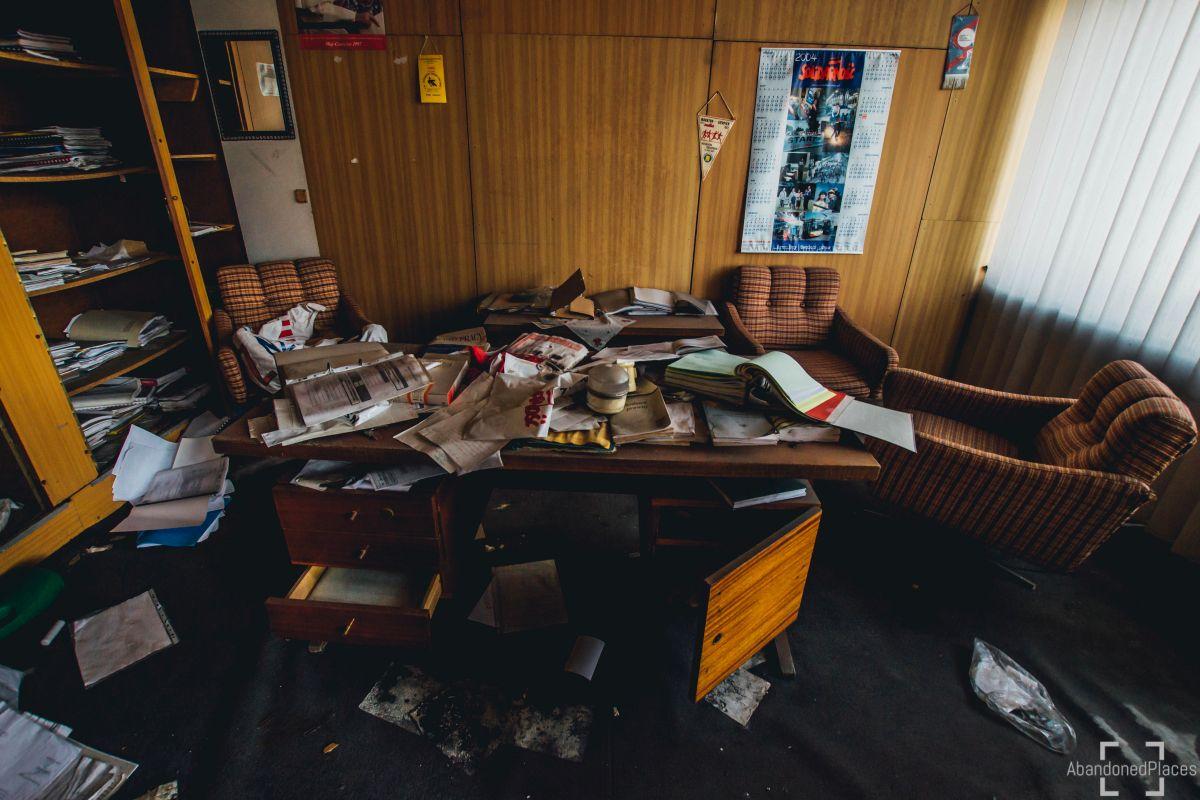 Opuszczony Biurowiec