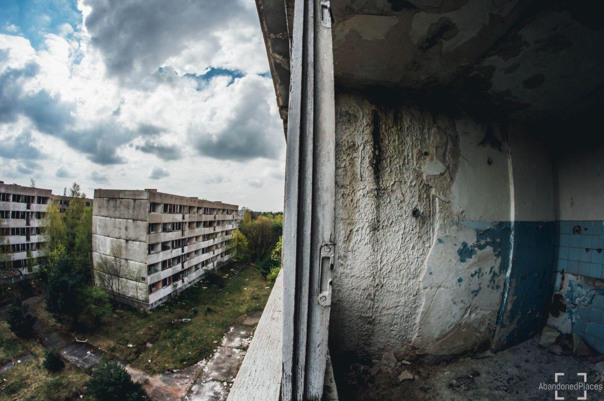 Opuszczone Miasto Pstrąże
